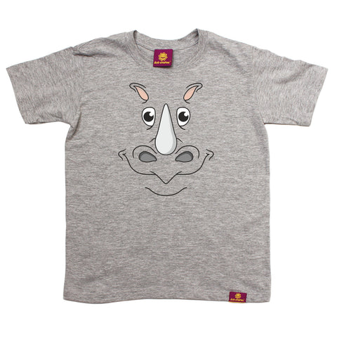 Ani-Mates Kids Rhino Animals T-Shirt