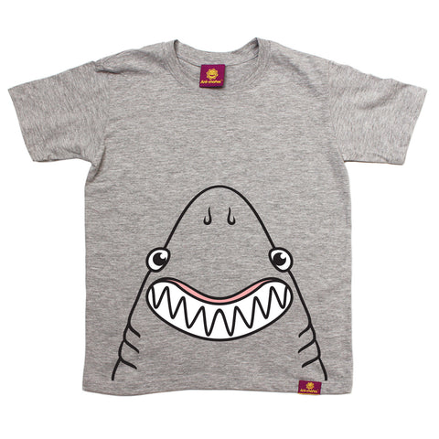 Ani-Mates Shark Animals Kids T-Shirt - Fun Children Clothes Tees Boys Girls Tops