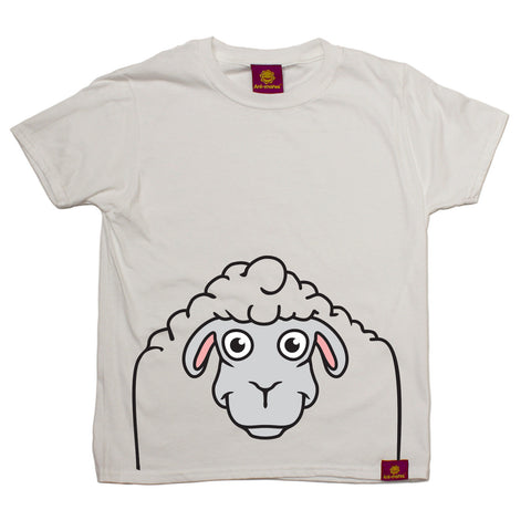 Ani-Mates Sheep Animals Kids T-Shirt - Fun Children Clothes Tees Boys Girls Tops