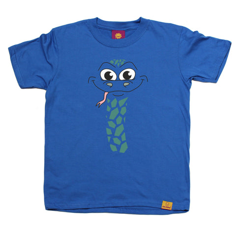 Ani-Mates Snake Animals Kids T-Shirt - Fun Children Clothes Tees Boys Girls Tops