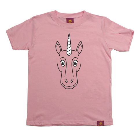 Ani-Mates Unicorn Animals Kids T-Shirt - Fun Clothes Tees Boys Girls Tops