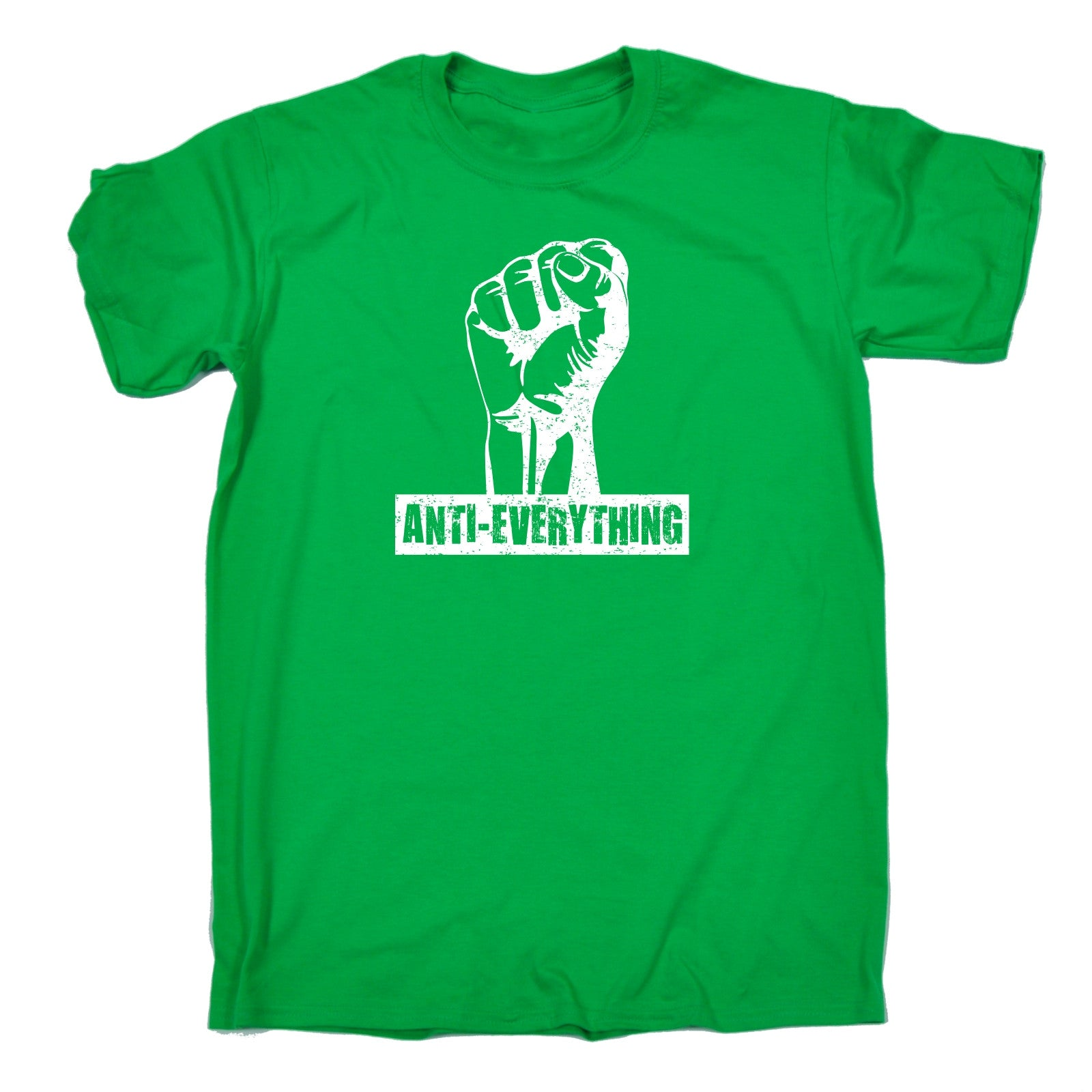 anti everything fist t shirt tee funny birthday gift 123t. Black Bedroom Furniture Sets. Home Design Ideas