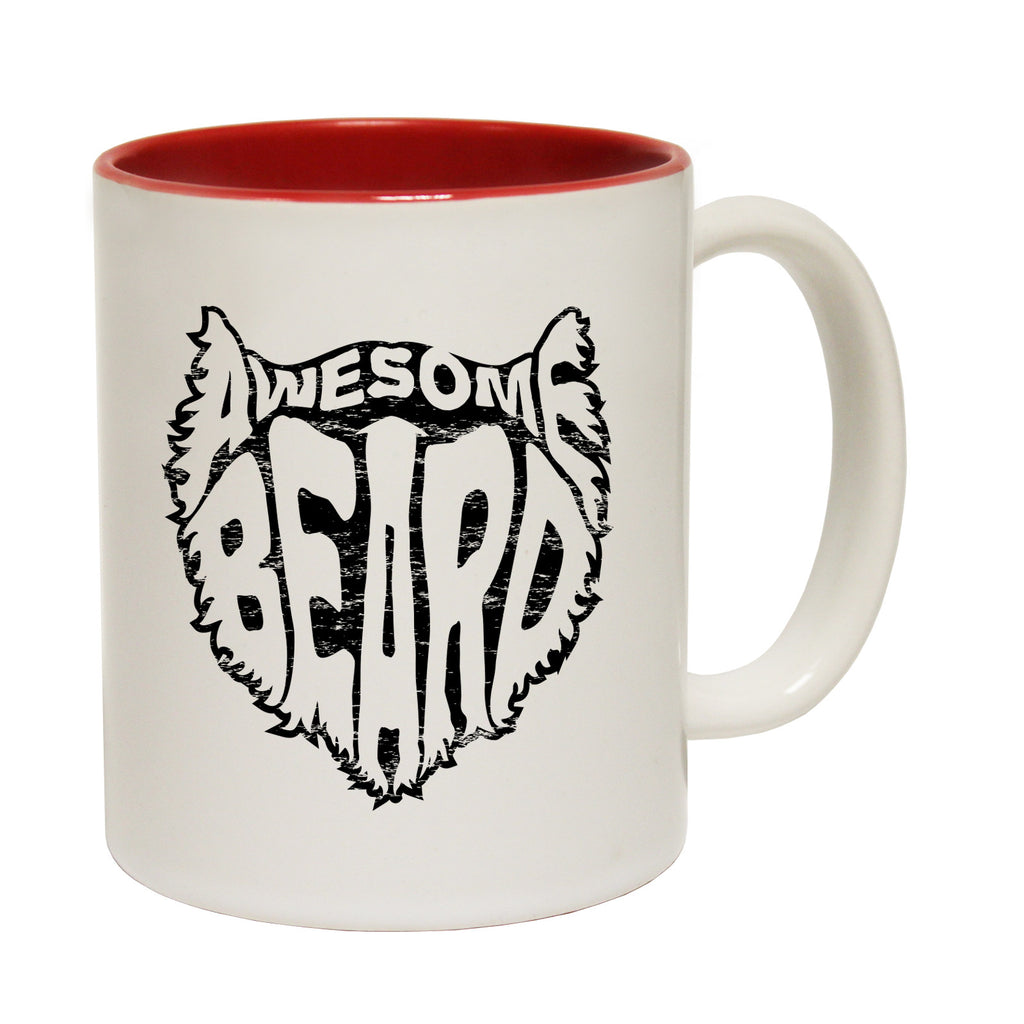 123t Awesome Beard Funny Mug - 123t clothing gifts presents