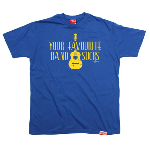 Banned Member Men's Your Favourite Band Sucks Music T-Shirt