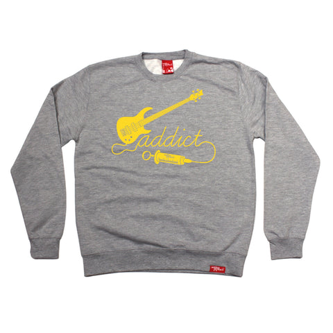 Banned Member Bass Addict Guitarist Sweatshirt
