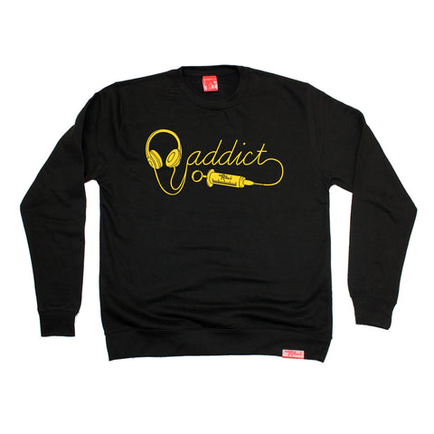 Banned Member Headphone Addict Music Sweatshirt
