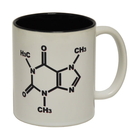 123t Caffeine Chemical Structure Funny Mug