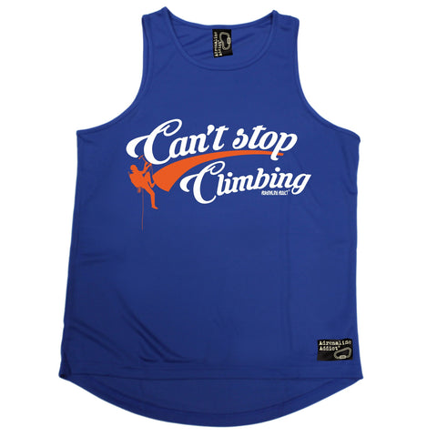 Adrenaline Addict Can't Stop Rock Climbing Men's Training Vest