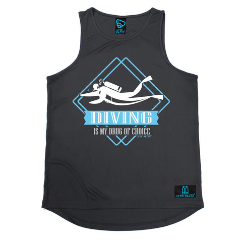 Open Water Scuba Diving Is My Drug Of Choice Men's Training Vest
