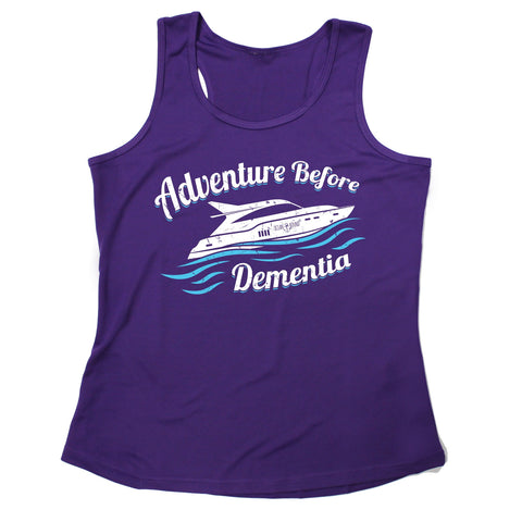Ocean Bound Adventure Before Dementia Speedboat Sailing Girlie Training Vest