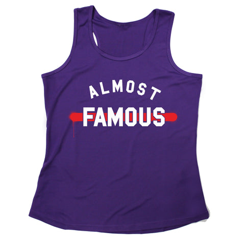 123t Almost Famous Funny Girlie Training Vest