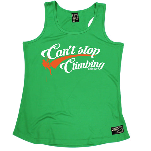 Adrenaline Addict Can't Stop Rock Climbing Girlie Training Vest