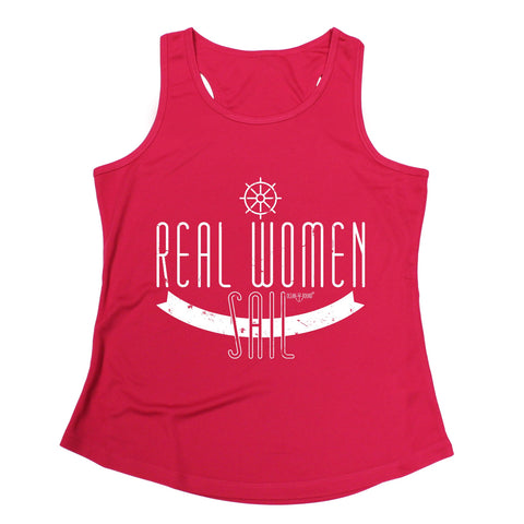 Ocean Bound Real Women Sail Sailing Girlie Training Vest