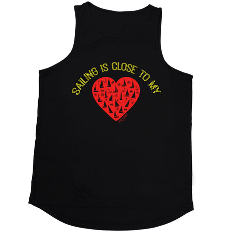 Ocean Bound Sailing Is Close To My Heart Men's Training Vest