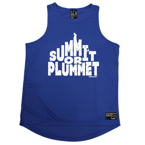Adrenaline Addict Summit Or Plummet Rock Climbing Men's Training Vest
