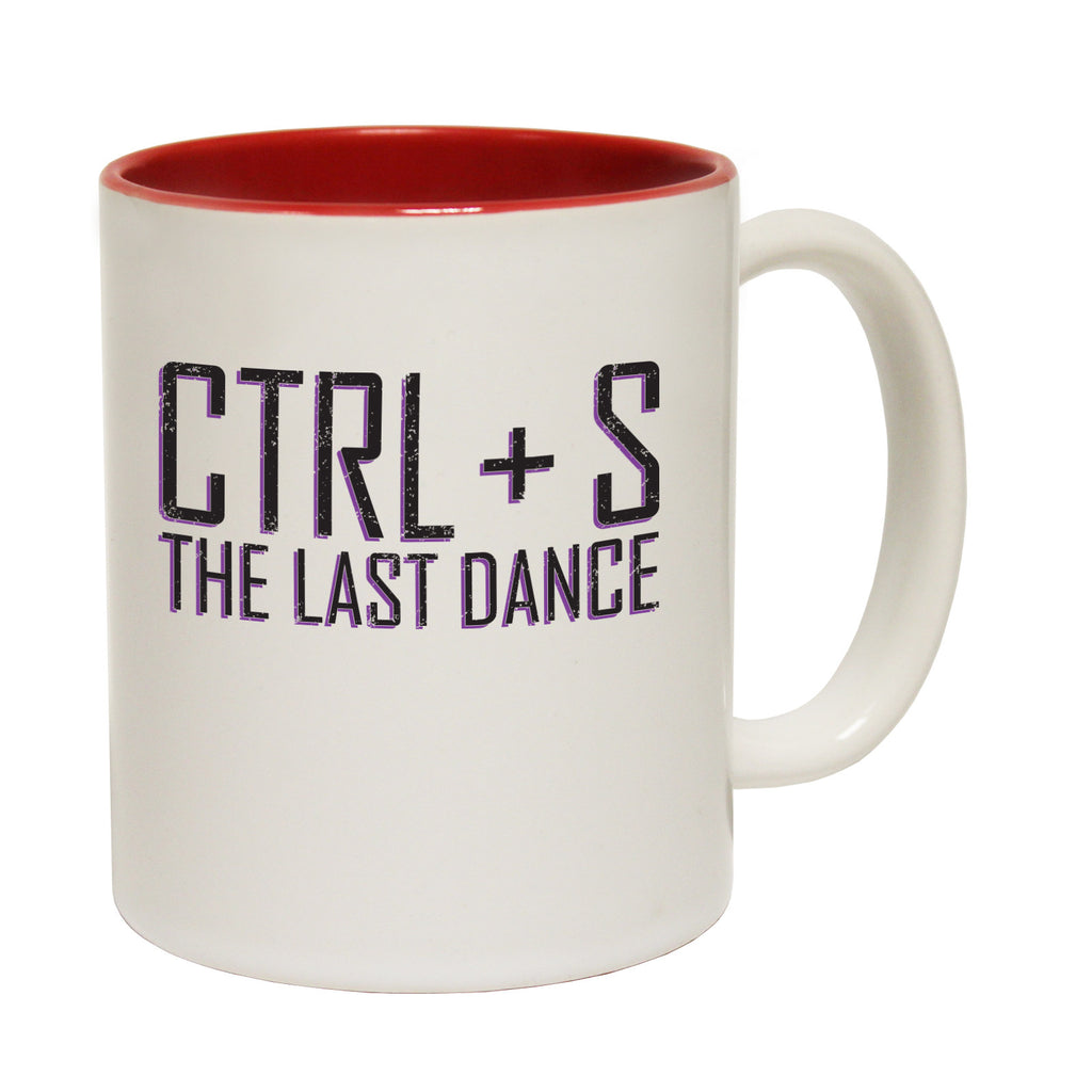 123t CTRL + S The Last Dance Funny Mug - 123t clothing gifts presents