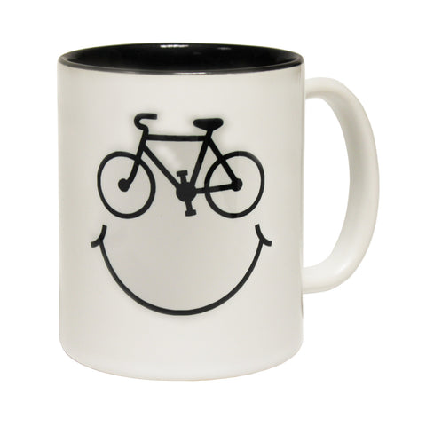 Ride Like The Wind Cycle Smiley Design Funny Cycling Mug