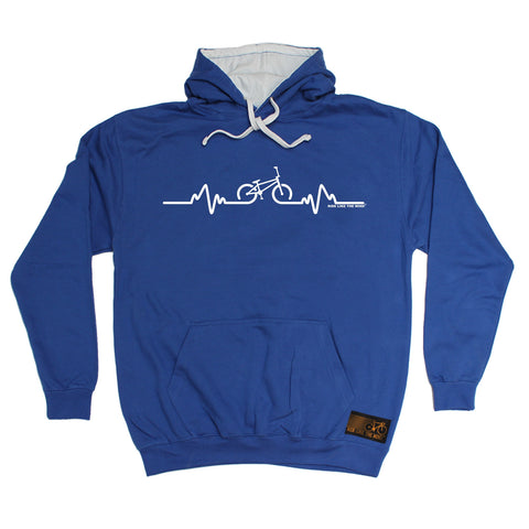 Ride Like The Wind BMX Pulse Cycling Hoodie