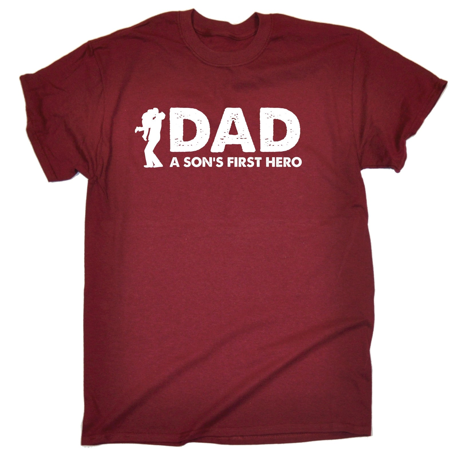 Dad A Sons First Hero T SHIRT Birthday