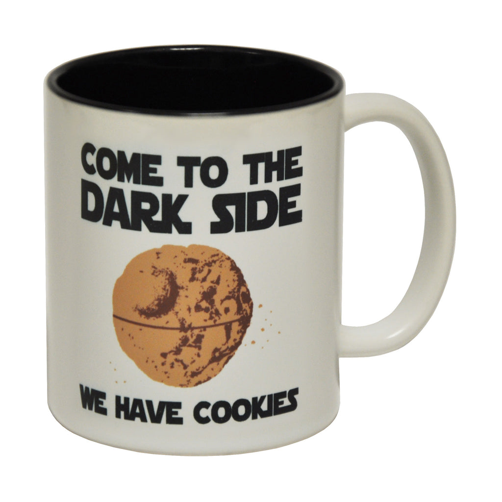 123t Come To The Dark Side We Have Cookies Funny Mug
