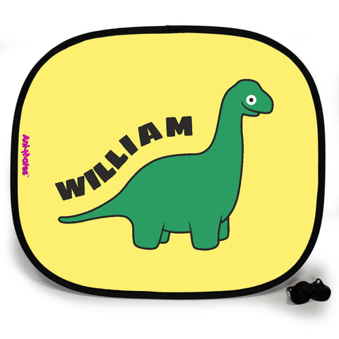 Ani-Mates Dinosaur Brachiosaurus Personalised UV Protection Fun Vehicle Interior Window Car Sunshade