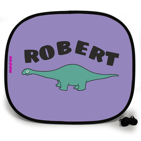 Ani-Mates Dinosaur Diplodocus Personalised UV Protection Fun Vehicle Interior Window Car Sunshade