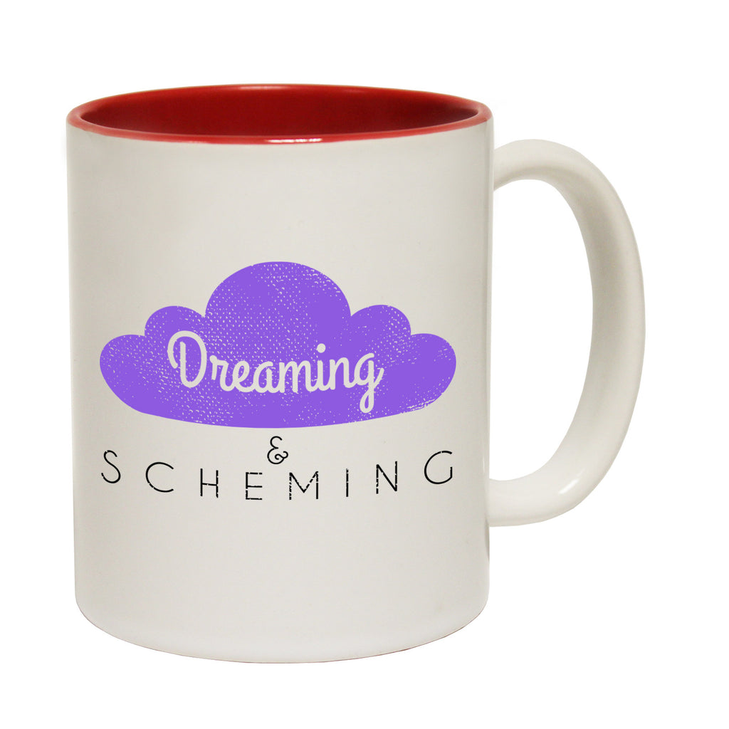 123t Dreaming & Scheming Funny Mug