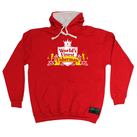 Drowning Worms World's Finest Fisherman Fishing Hoodie