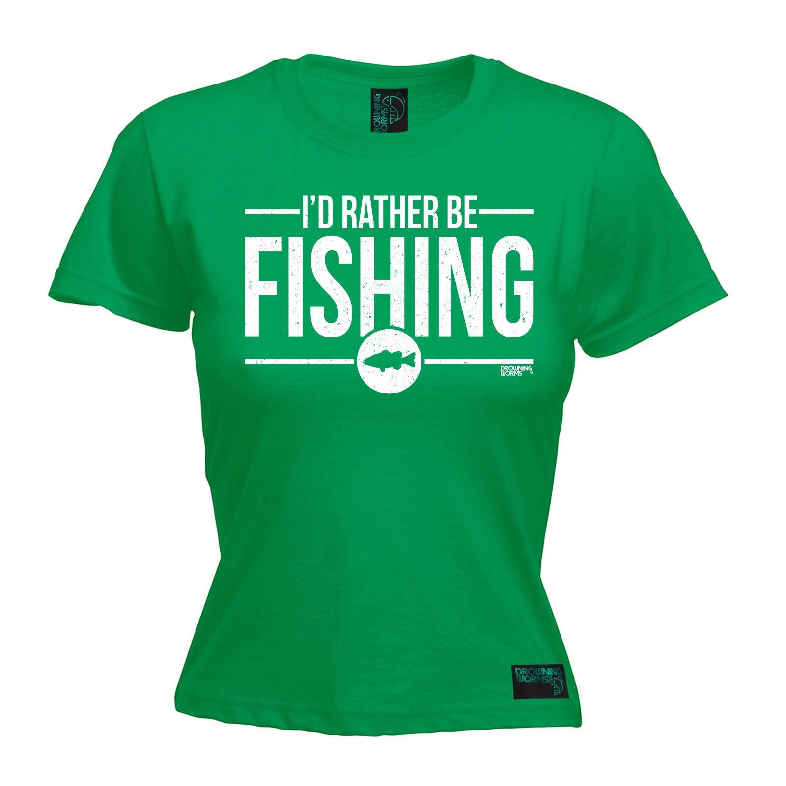 Id Rather Be Fishing DW T SHIRT Tee