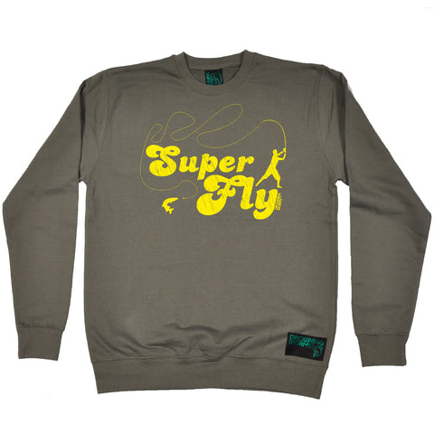 Drowning Worms Super Fly Fishing Sweatshirt