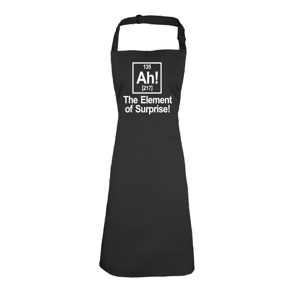 123t Ah ! The Element Of Surprise Funny Apron - 123t clothing gifts presents