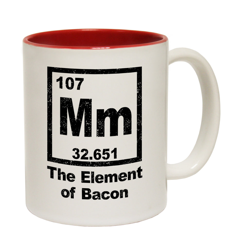 123t MM The Element Of Bacon Funny Mug