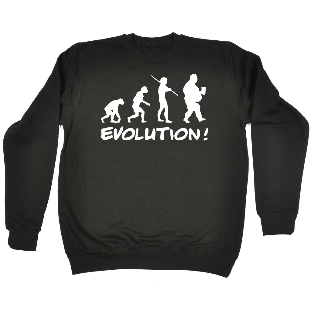 123t Evolution Fat Funny Sweatshirt