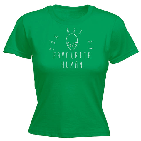 123t Women's You Are My Favourite Human Funny T-Shirt