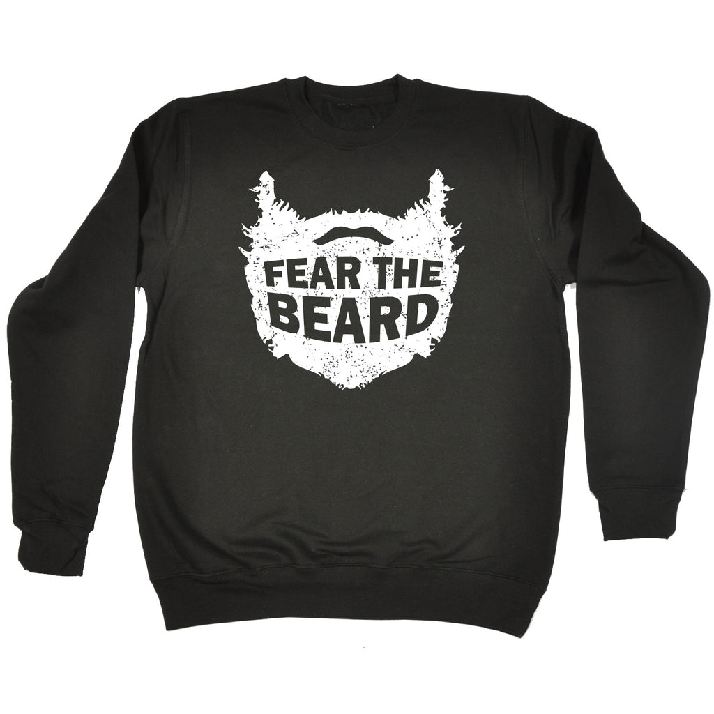 123t Fear The Beard Funny Sweatshirt