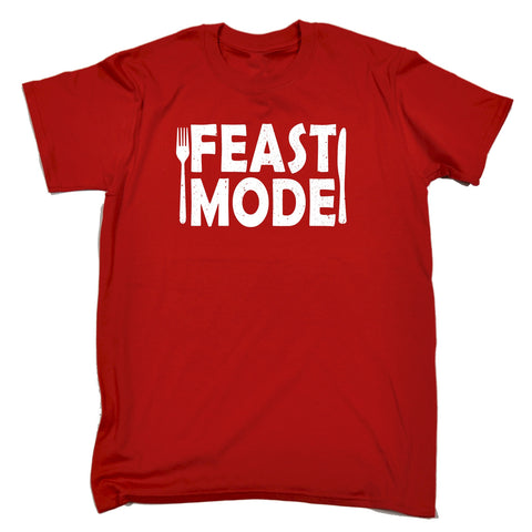 123t Men's Feast Mode Funny T-Shirt