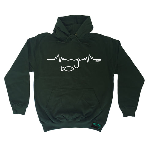 Drowning Worms Fishing Pulse Hoodie