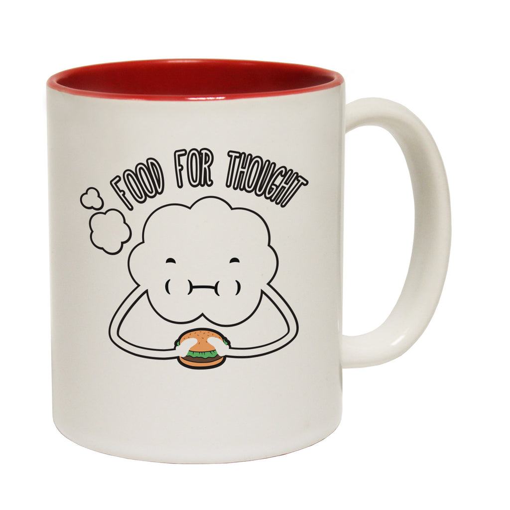 123t Food For Thought Funny Mug