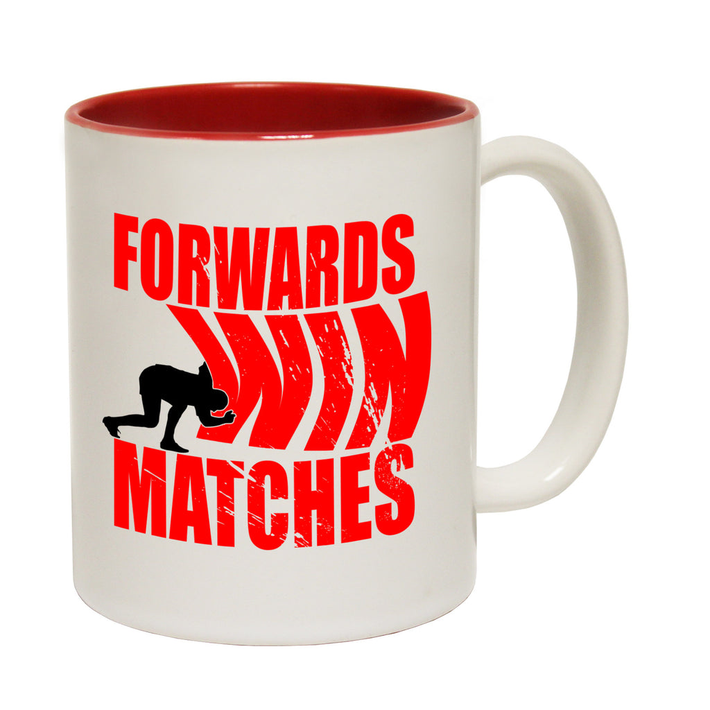 Up And Under Forwards Win Matches Funny Rugby Mug
