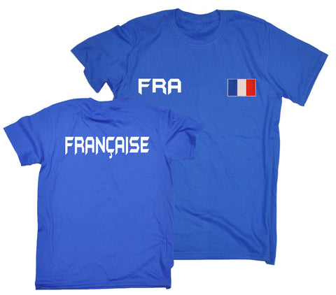 123t French Supporter T-Shirt, 123t Nation Shirts