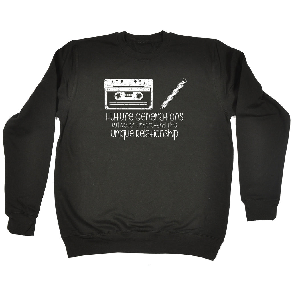 123t Future Generations Never Understand Unique Relationship Tape Design Funny Sweatshirt, 123t