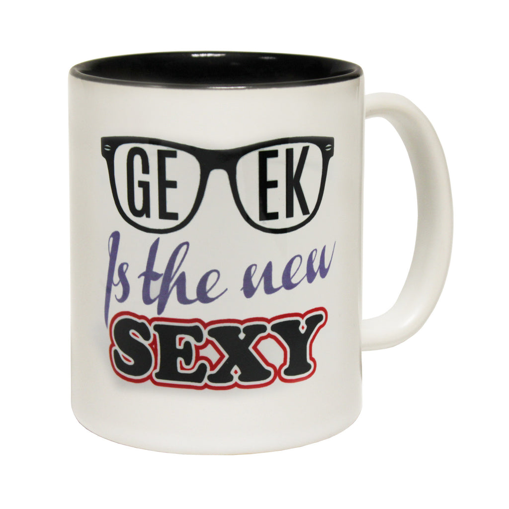 123t Geek Is The New Sexy Funny Mug