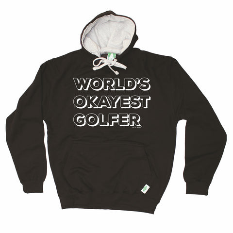 Out Of Bounds World's Okayest Golfer Golfing Hoodie