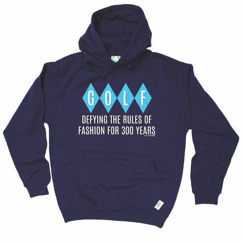 Out Of Bounds Defying The Rules Of Fashion Argyle Design Golfing Hoodie