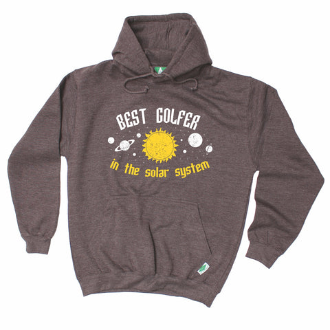 Out Of Bounds Best Golfer In The Solar System Golfing Hoodie