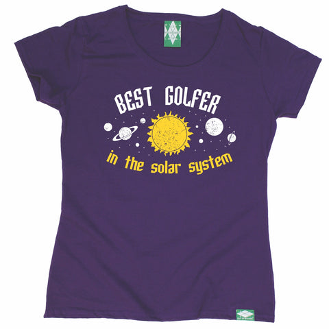 Out Of Bounds Women's Best Golfer In The Solar System Golfing T-Shirt