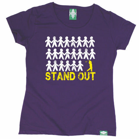 Out Of Bounds Women's Stand Out Golf Golfing T-Shirt