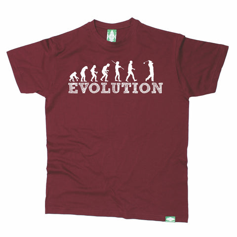 Out Of Bounds Men's Evolution Golf Golfing T-Shirt