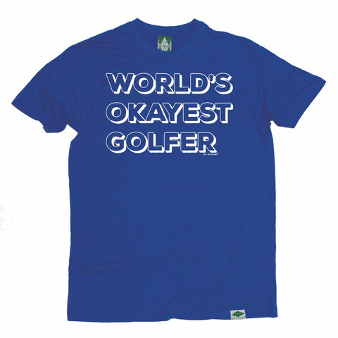 Out Of Bounds Men's World's Okayest Golfer Golfing T-Shirt