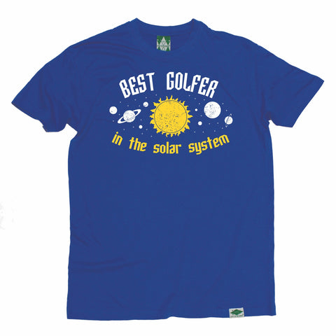 Out Of Bounds Men's Best Golfer In The Solar System Golfing T-Shirt